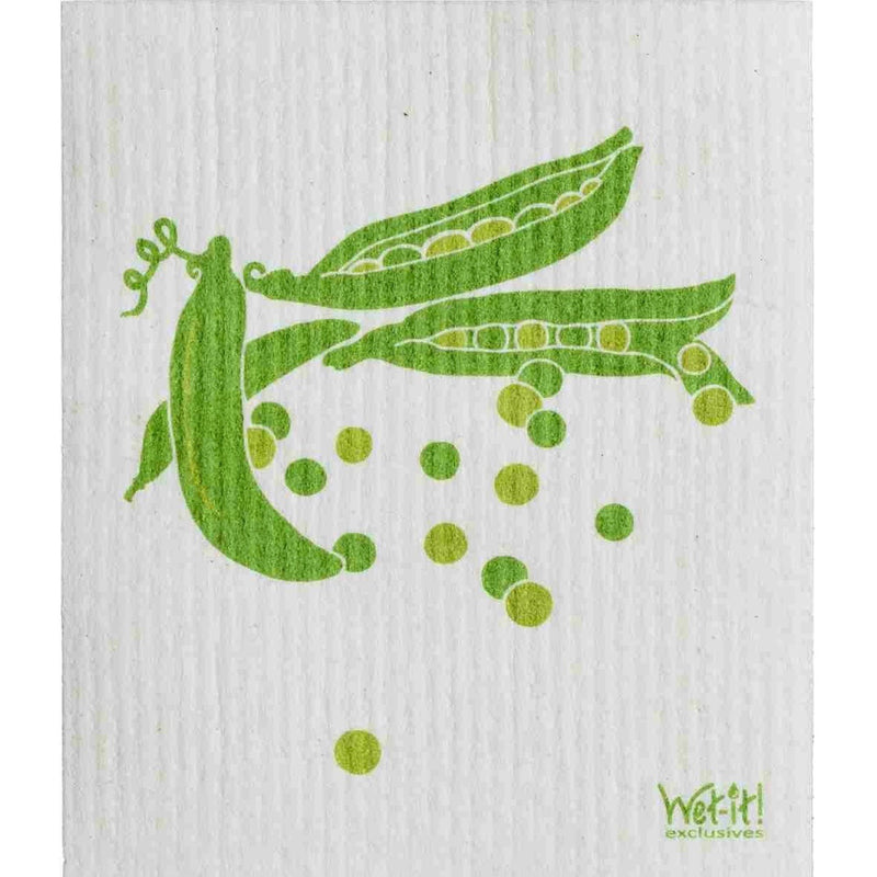 Wet it! Pea Pod Swedish Cloth  | Putti Fine Furnishings