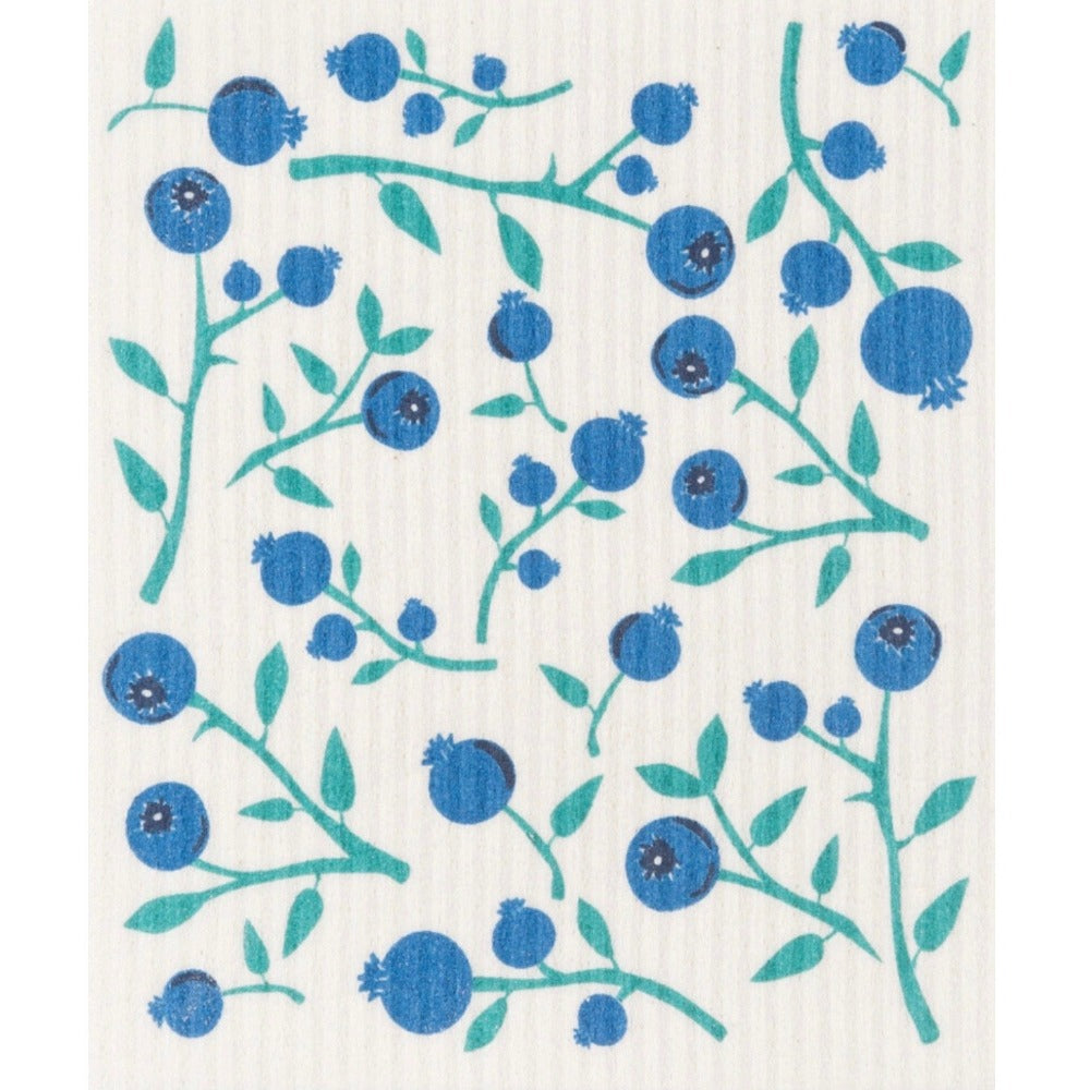 Now Designs Blueberries Swedish Cloth | Putti Fine Furnishings