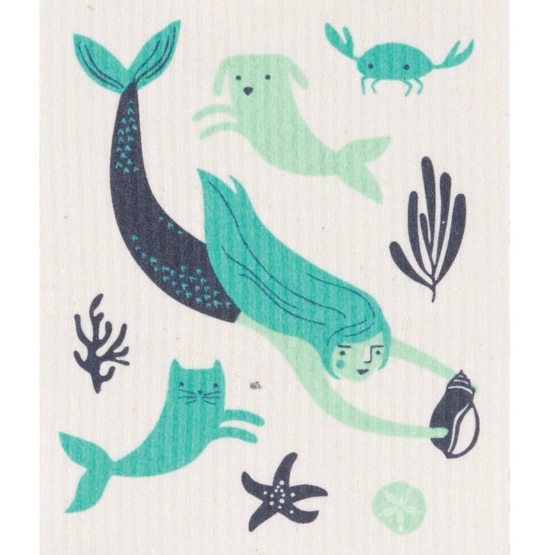 Danica Sea Spell Mermaid Swedish Cloth | Putti Fine Furnishings