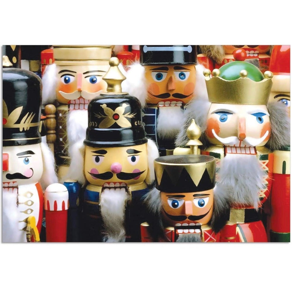 Nutcrackers Christmas Card