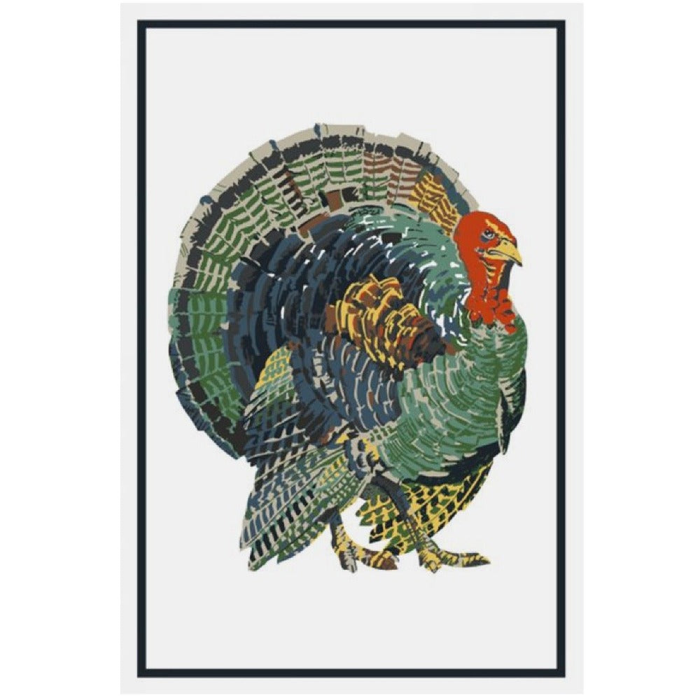 Mahogany Turkey Flour Sack Kitchen Towel - Set of 2 | Putti Fine Furnishings