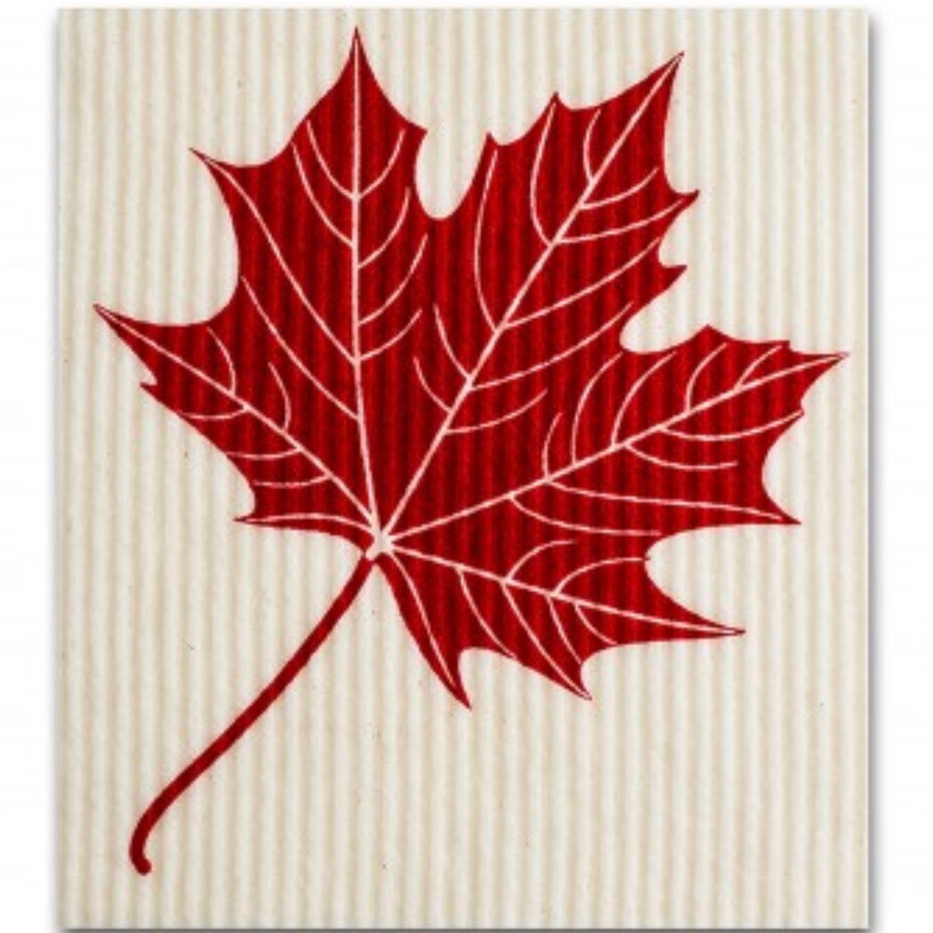 Wet it! Maple Leaf Swedish Cloth | Putti Fine Furnishings Canada