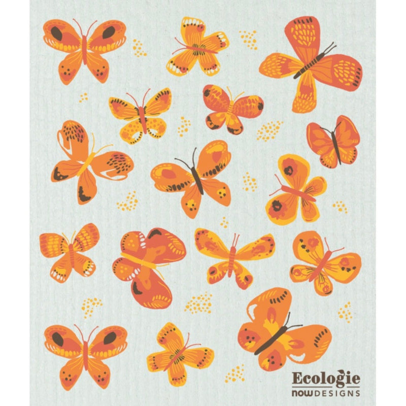 Now Designs Fly By Butterfly Swedish Cloth