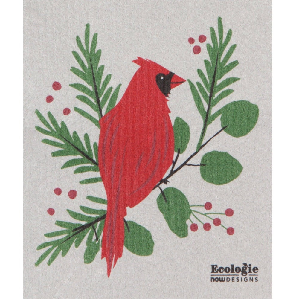 Now Designs Forest Cardinal Swedish Cloth