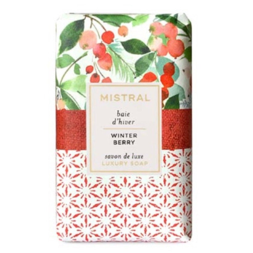 Mistral Limited Edition Holiday Soap - Winter Berry | Putti Christmas