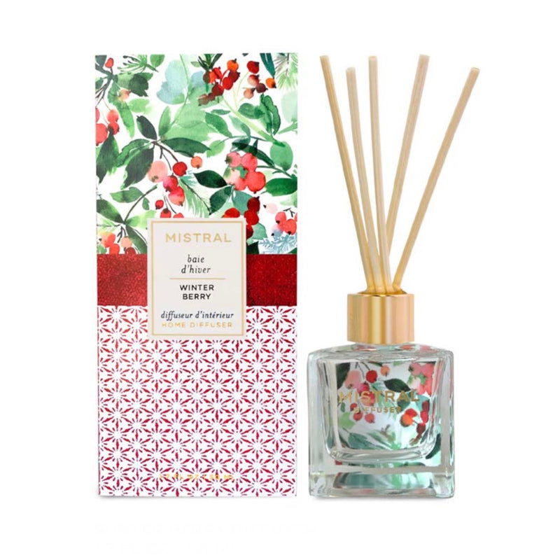 Mistral Limited Edition Holiday Diffuser - Winter Berry