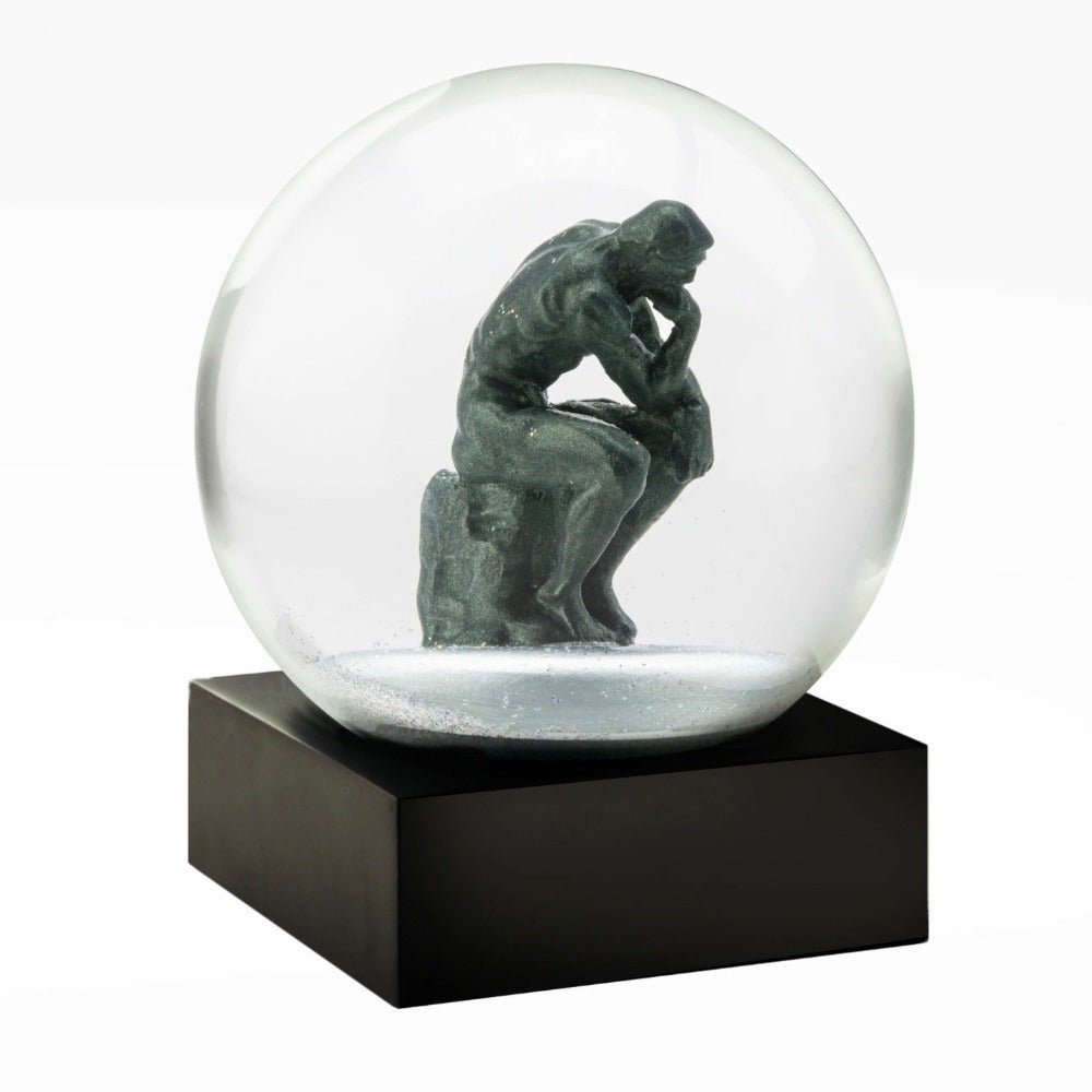 CoolSnowGlobes | The Thinker Cool Snow Globe | Putti Celebrations Canada