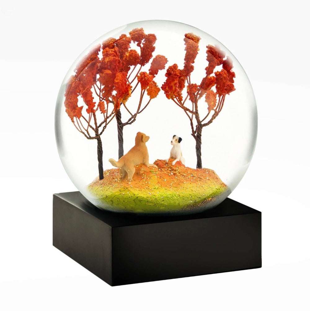 CoolSnowGlobes | Autumn Pals Cool Snow Globe | Putti Celebrations Canada