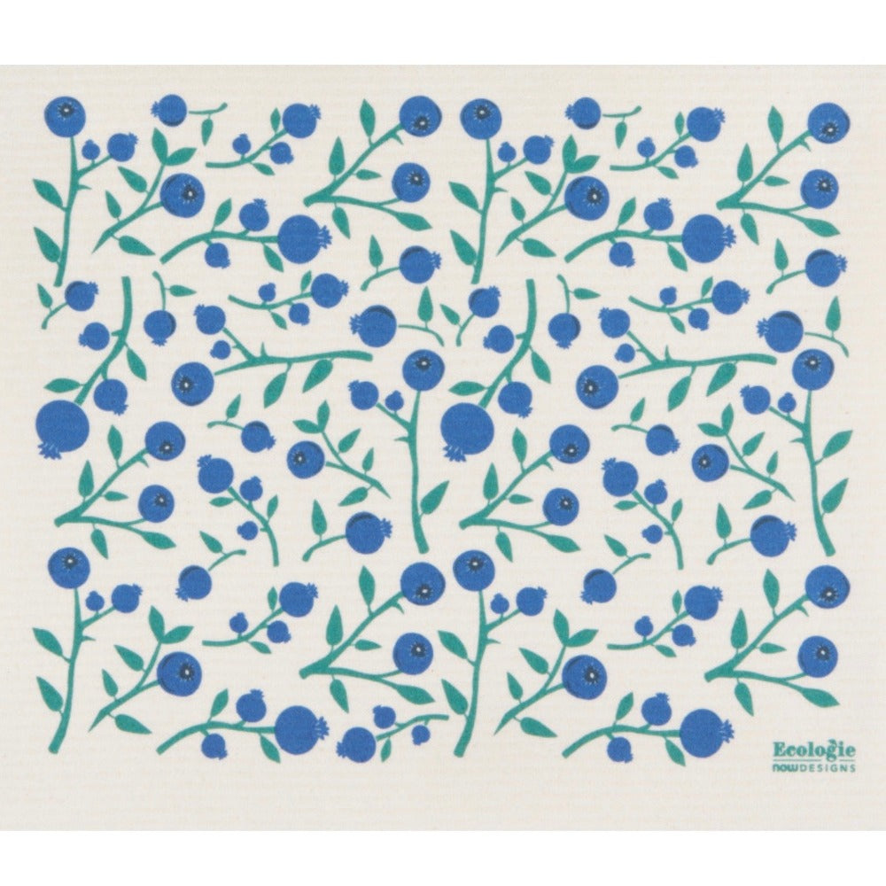 Now Designs Blueberries Swedish Dry Mat