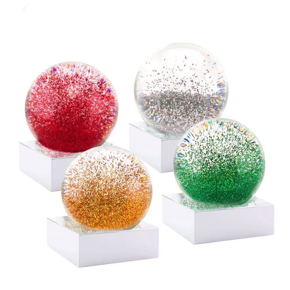 CoolSnowGlobes - Mini Christmas Jewels Set of Four