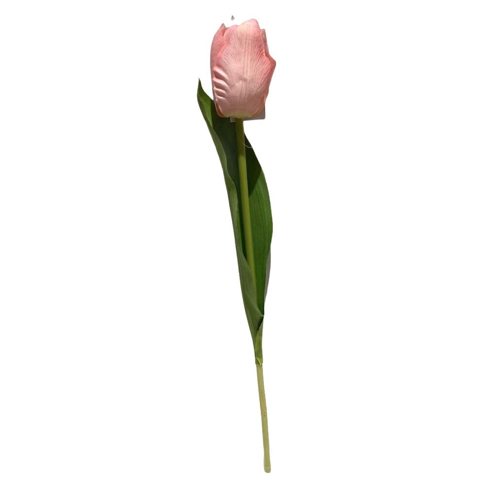 Real Touch Single Tulip - Pink