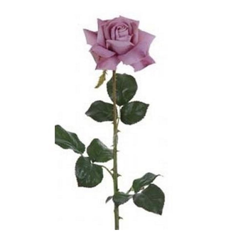Palmetto Rose Medium Open - Lush Lavender-Artificial Flowers-Windward Canada-Putti Fine Furnishings