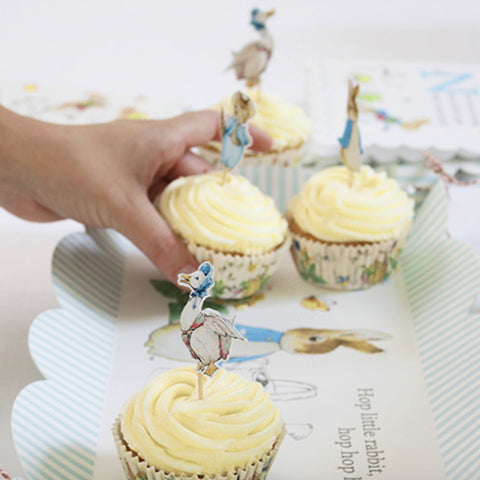 Meri Meri Peter Rabbit Cupcake Kit -  Party Supplies - Meri Meri UK - Putti Fine Furnishings Toronto Canada - 1