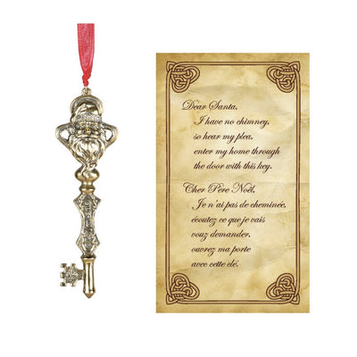 Santa's Key with Story Card, CT-Christmas Tradition, Putti Fine Furnishings