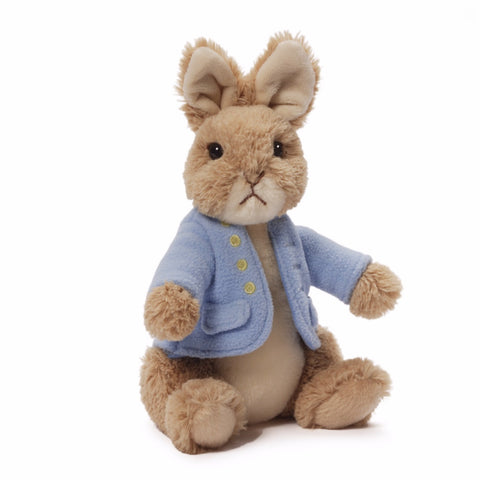 Gund - Peter Rabbit Classic Plush Toy -  Children's Giftware - Enesco - Putti Fine Furnishings Toronto Canada