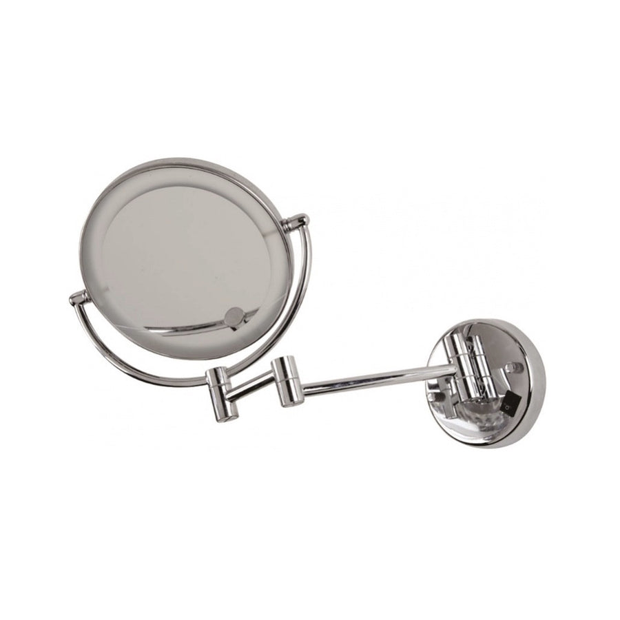 Dimmable Wall Mirror - Chrome