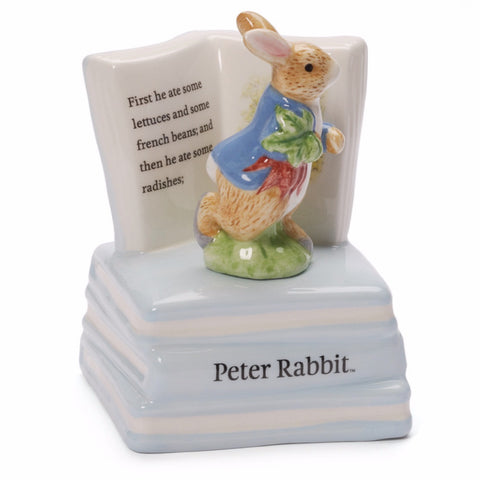 Baby Gund - Peter Rabbit Musical Box -  Children's Giftware - Enesco - Putti Fine Furnishings Toronto Canada