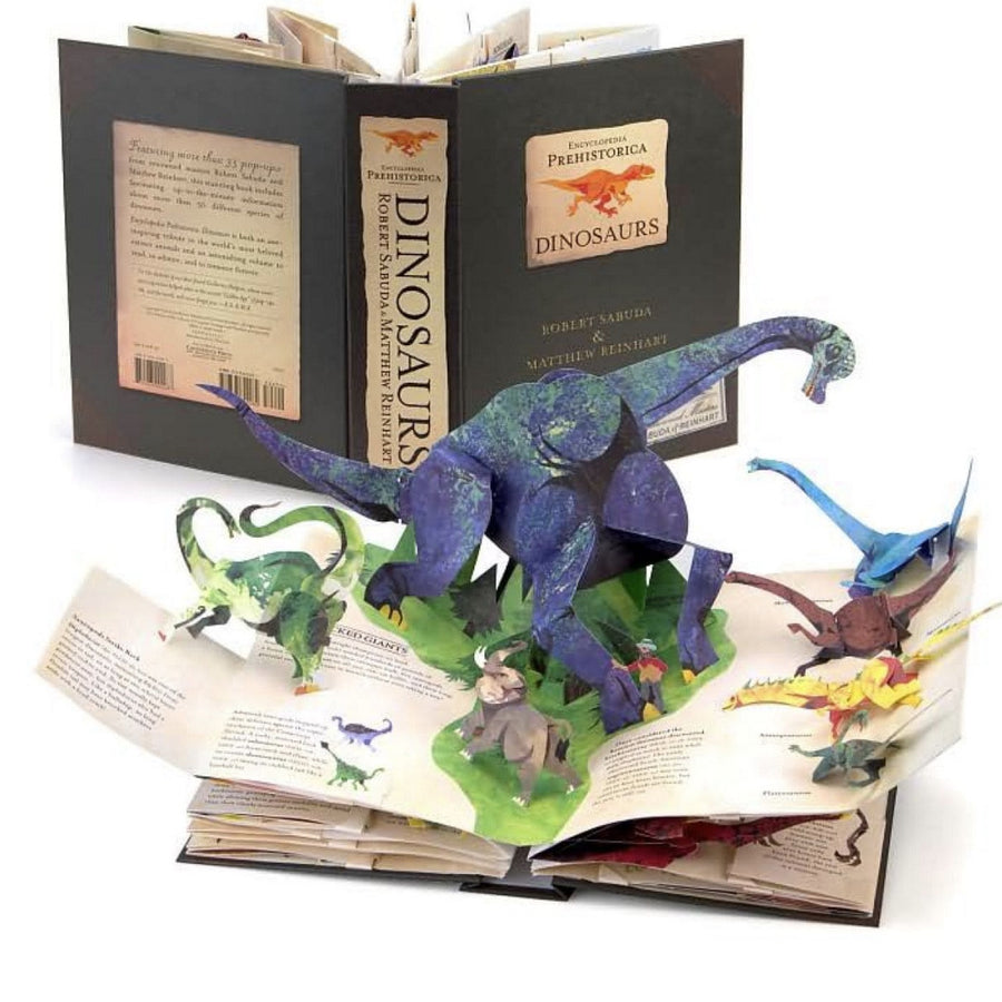 """Encyclodedia Prehistorica Dinosaurs"" Pop up Book"