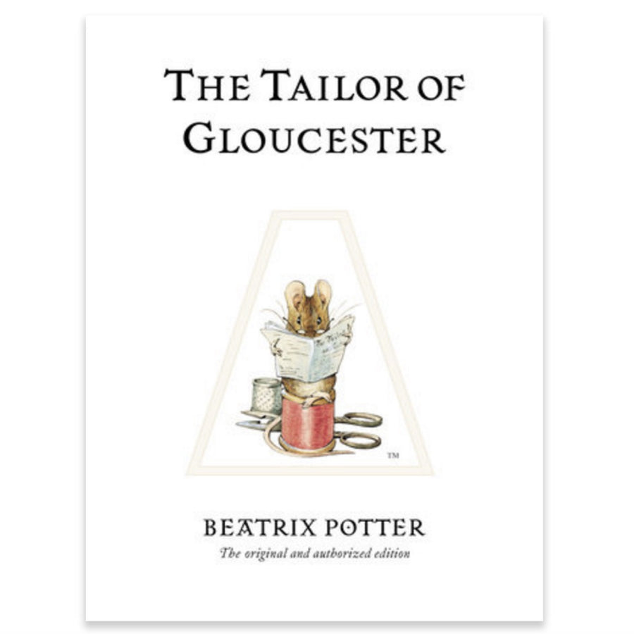 "Beatrix Potter ""Tailor of Glouchester"" Book, RH-Random house, Putti Fine Furnishings"