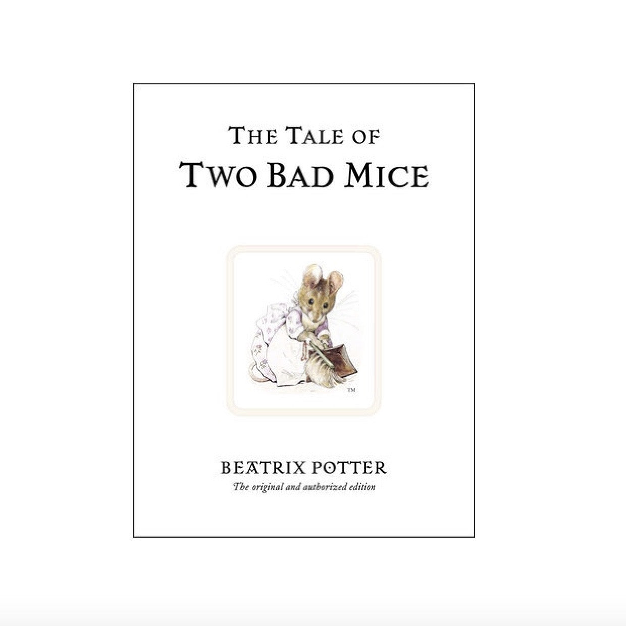 Beatrix Potter Two Bad Mice, RH-Random house, Putti Fine Furnishings