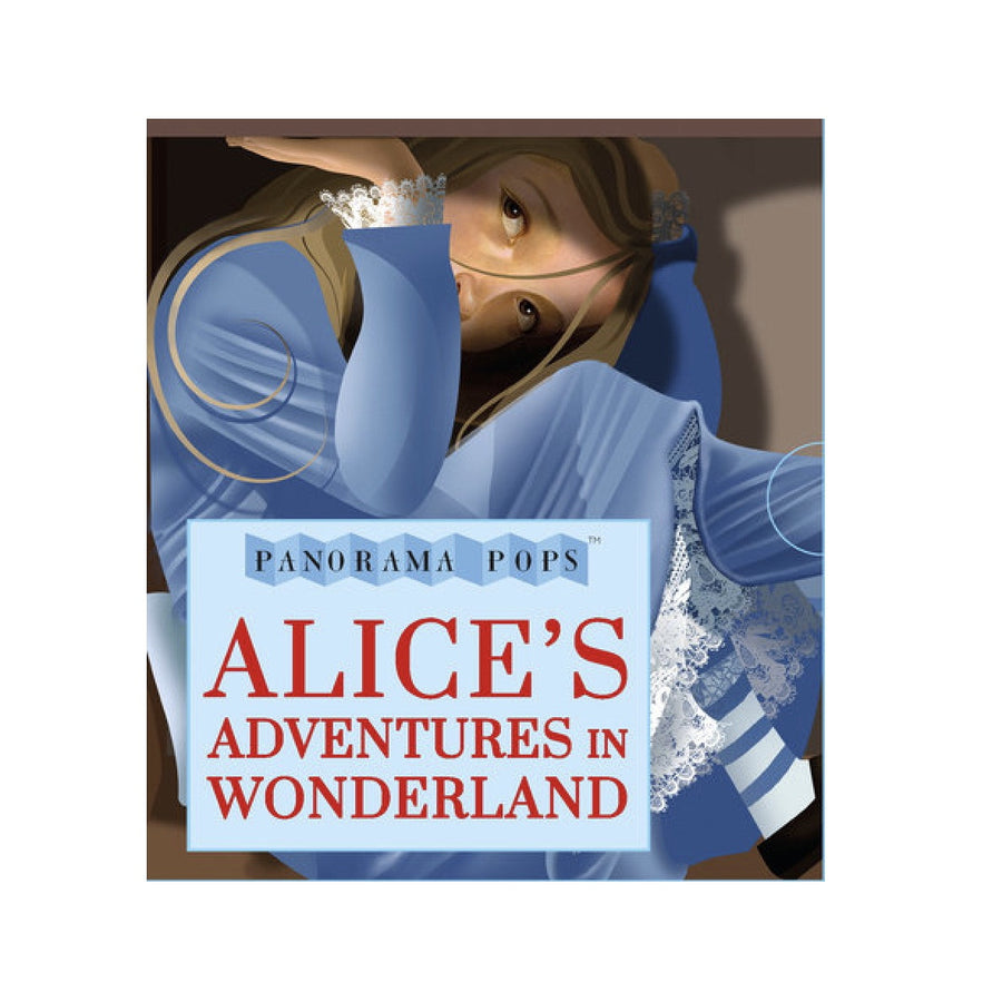 """Alices Adventures in Wonderland"" Panorama Pops Book, RH-Random house, Putti Fine Furnishings"