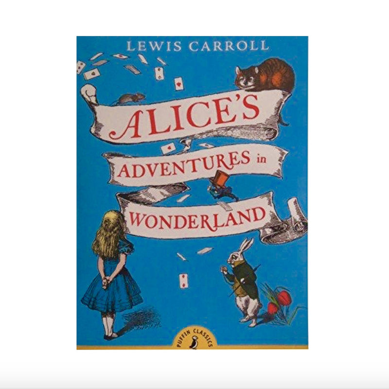 """Alices Adventures in Wonderland"" Book - Paperback, RH-Random house, Putti Fine Furnishings"