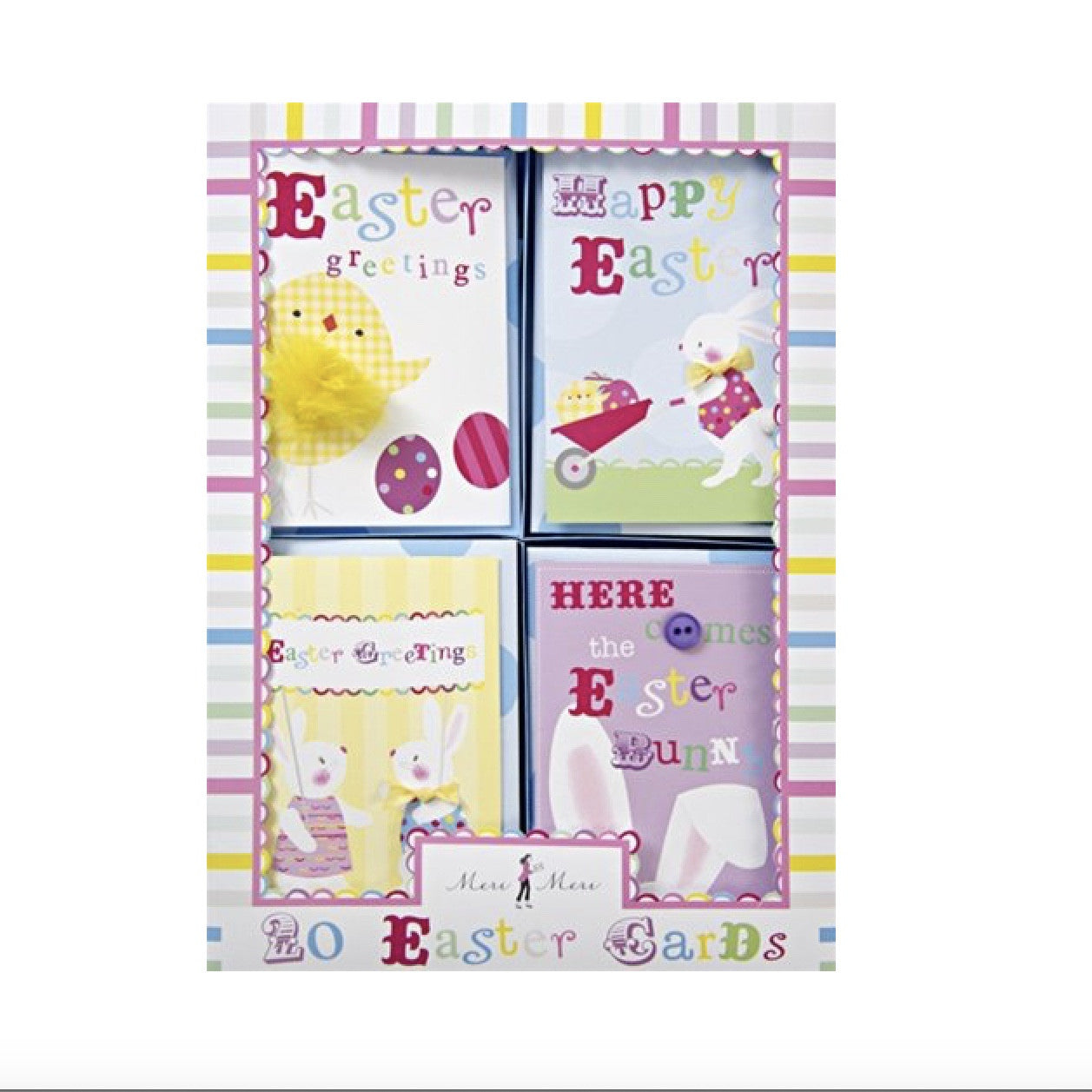 Meri Meri Easter Greetings Boxed Cards, MM-Meri Meri UK, Putti Fine Furnishings