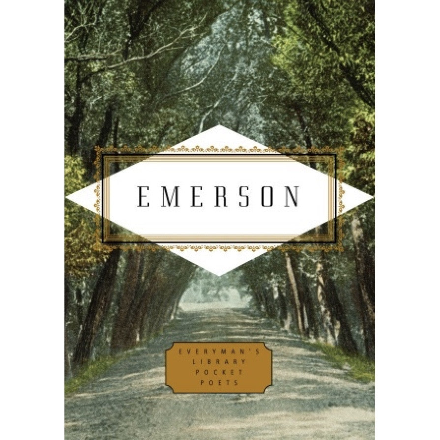 Everyman's Library - Emmerson Poems, RH-Random house, Putti Fine Furnishings