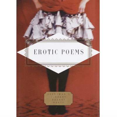 Everyman's Library - Erotic Poems, RH-Random house, Putti Fine Furnishings
