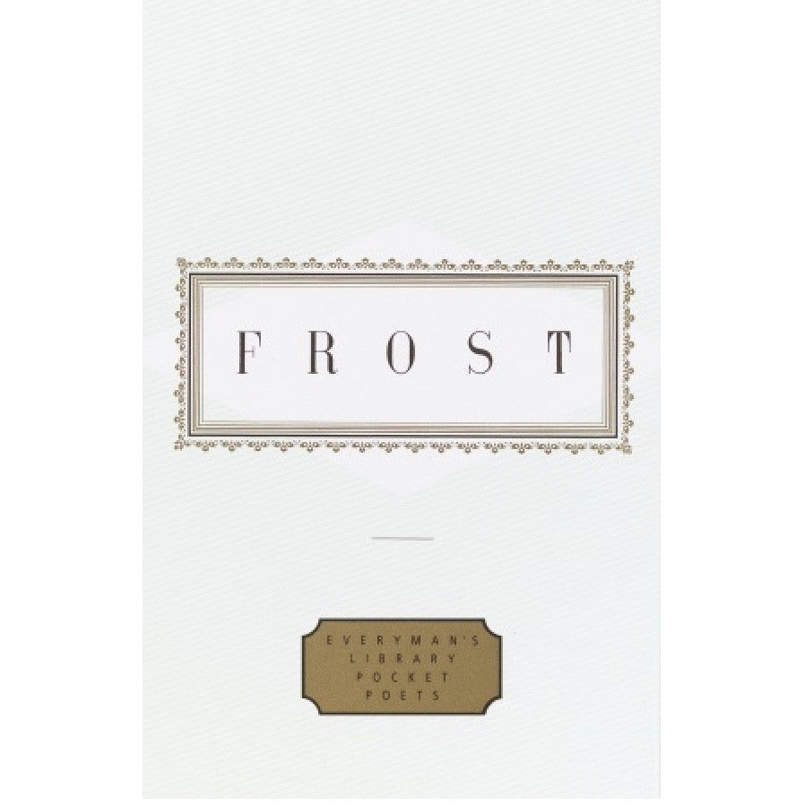Everyman's Library - Frost Poems, RH-Random house, Putti Fine Furnishings