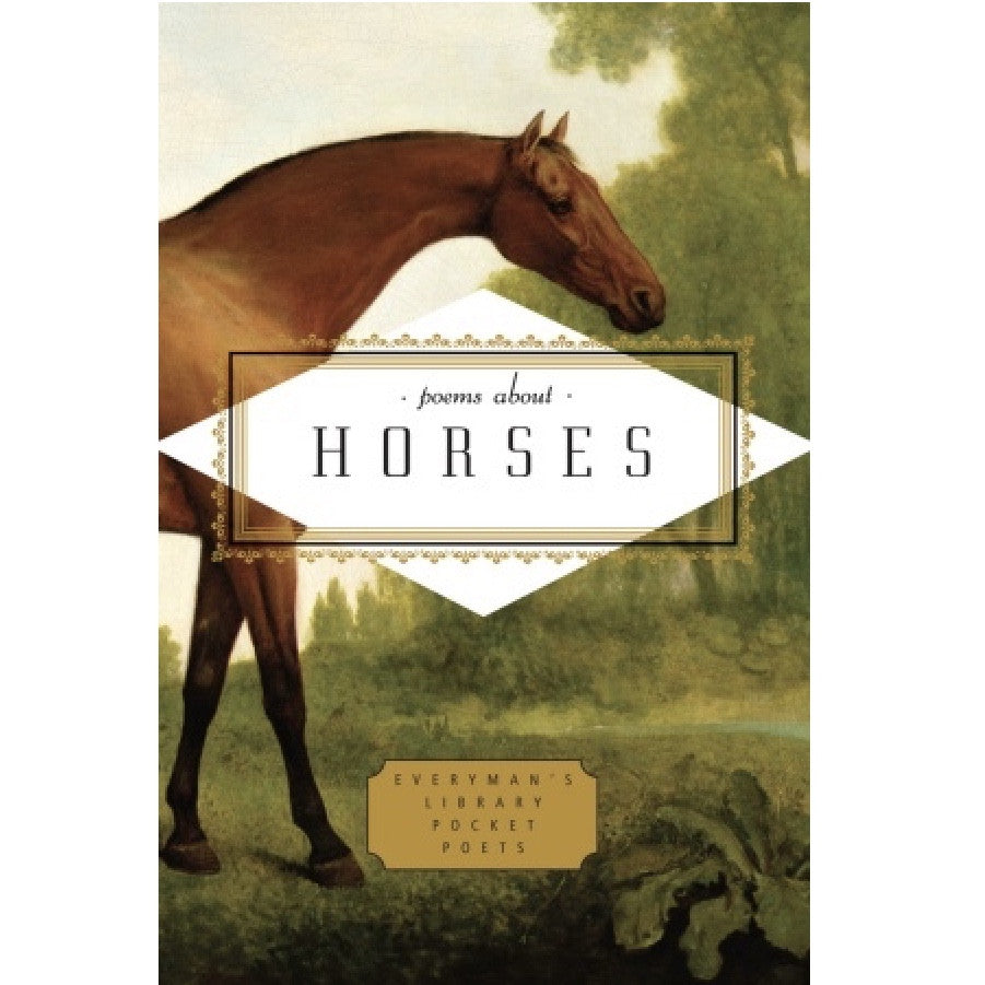 Everyman's Library - Poems About Horses, RH-Random house, Putti Fine Furnishings