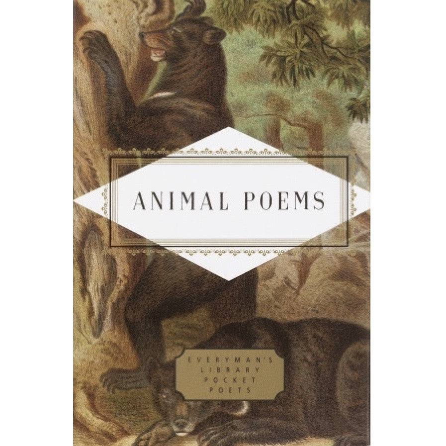 Everyman's Library - Animal Poems, RH-Random house, Putti Fine Furnishings