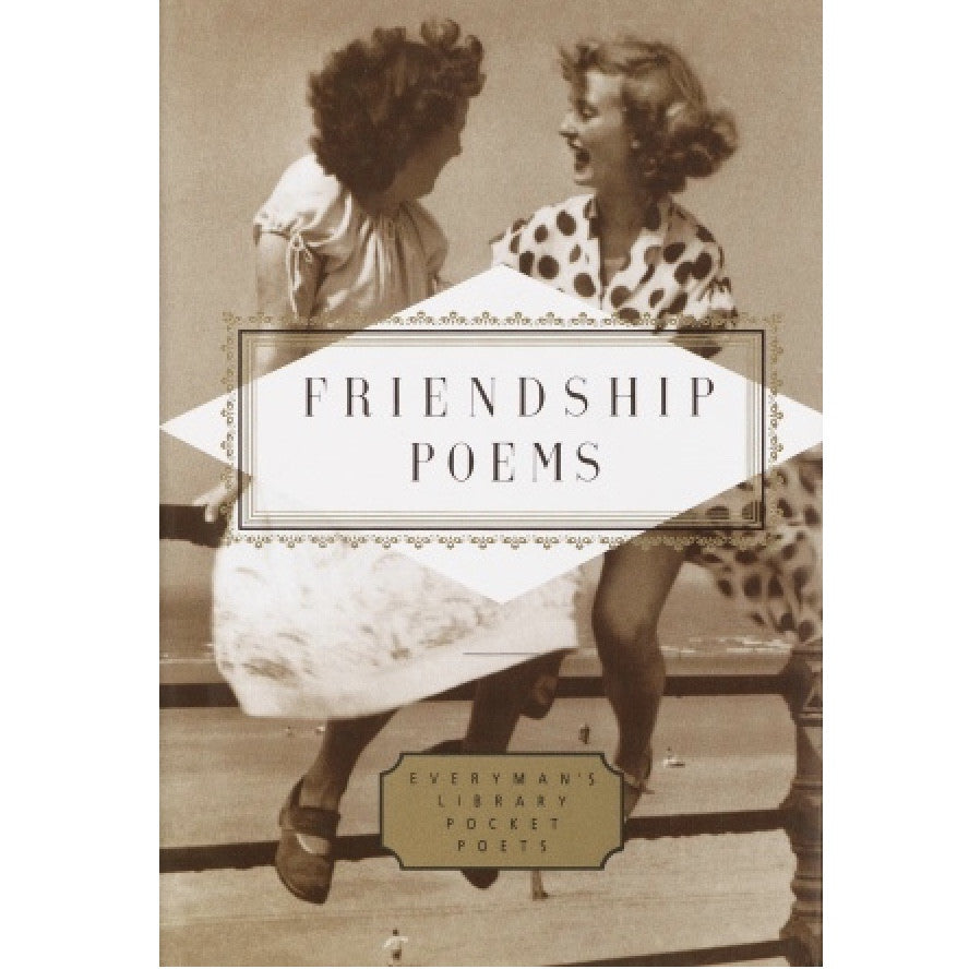 Everyman's Library - Friendship Poems, RH-Random house, Putti Fine Furnishings