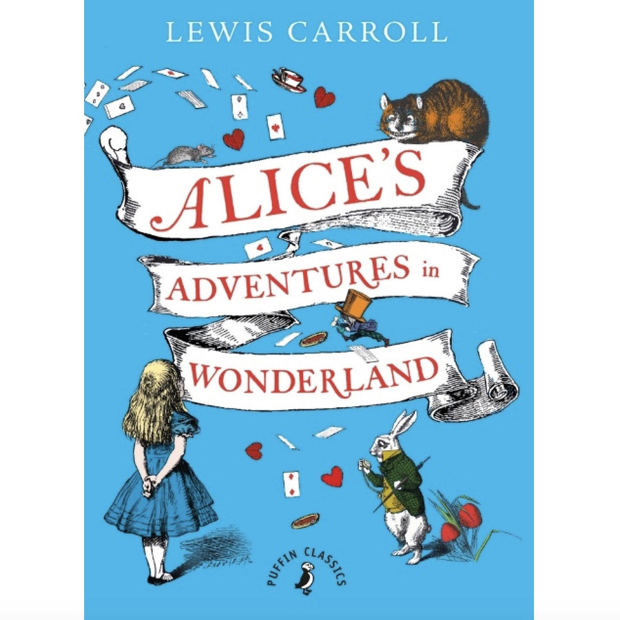 """Alices Adventures in Wonderland"" Book - Hardcover Edition, RH-Random house, Putti Fine Furnishings"