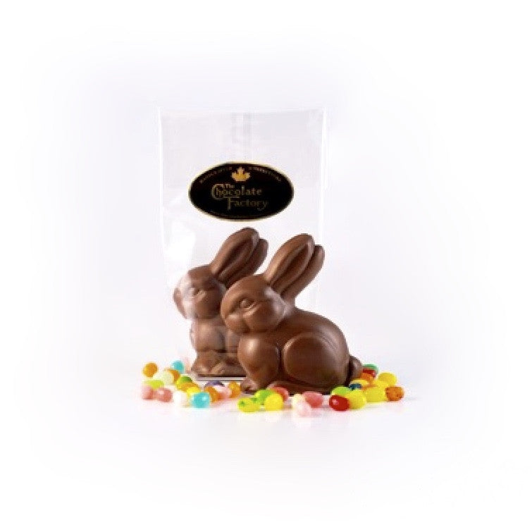 "Chocolate ""Fluffy"" Bunny, TCF-The Chocolate Factory, Putti Fine Furnishings"