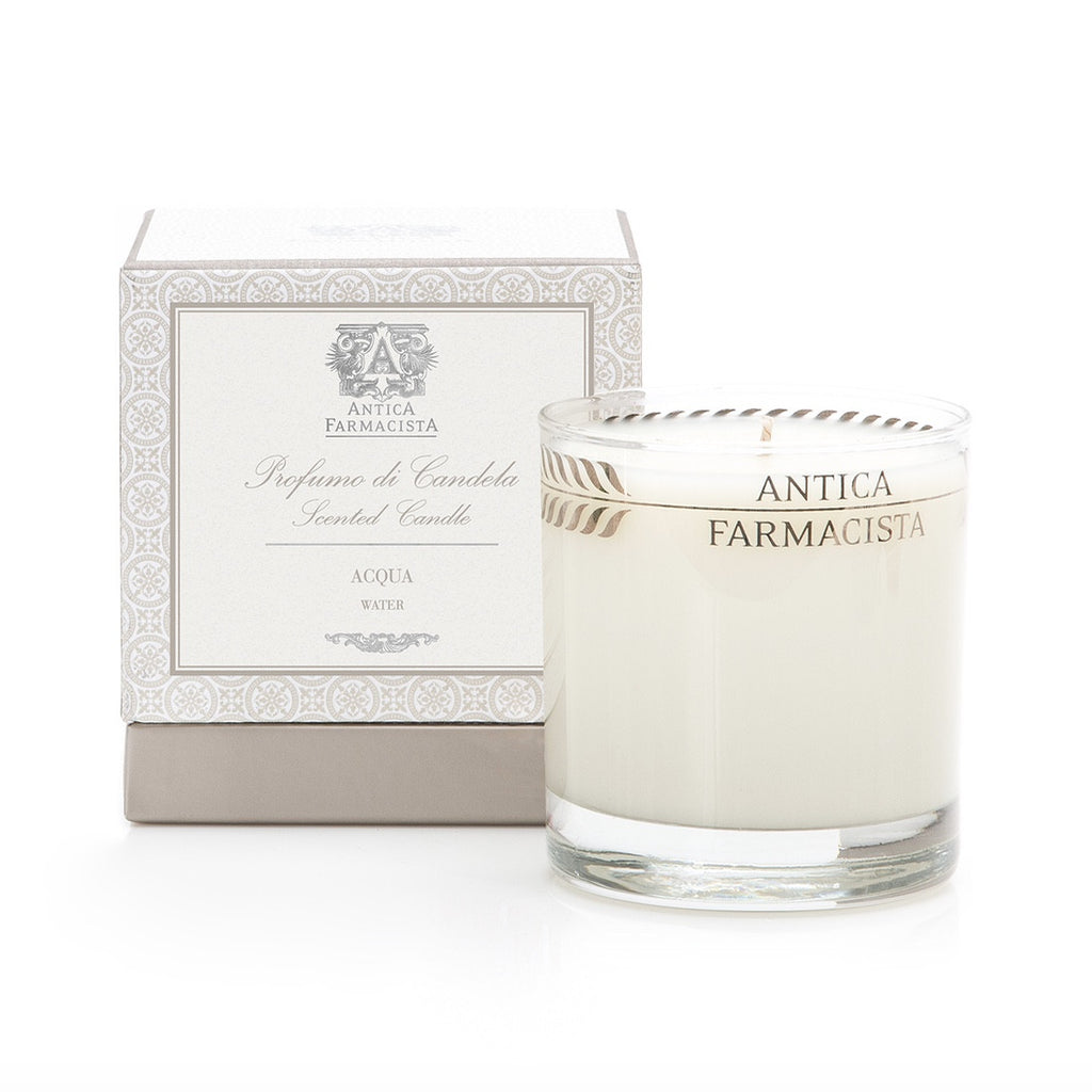 Antica Farmacista Aqua Candle-Home Fragrance-AF-Antica Farmacista-Putti Fine Furnishings