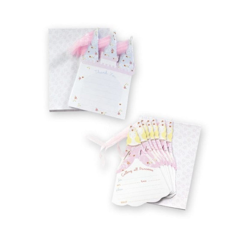 Meri Meri Princess Party Invitations & Thank You Notes, MM-Meri Meri UK, Putti Fine Furnishings