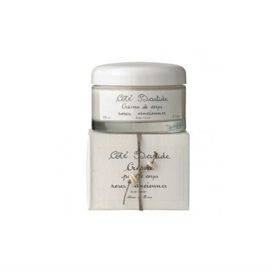 Cote Bastide Body Cream in Glass Jar - Roses Anciennes