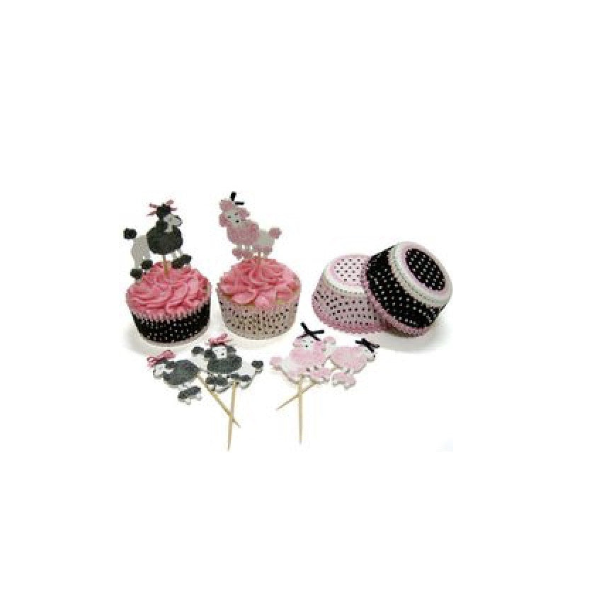 Ooh La La Paris Cupcake Kit-Cup Cake Holders-MM-Meri Meri UK-Putti Fine Furnishings
