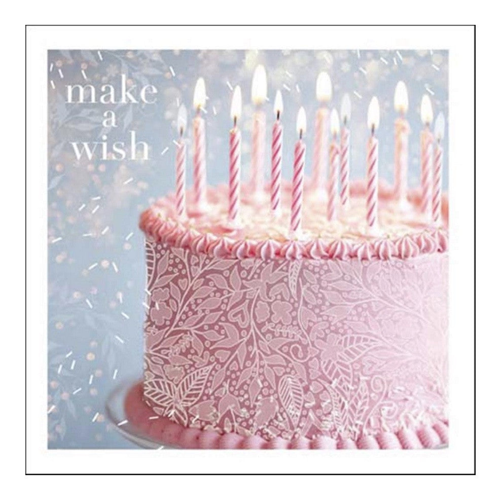 Make A Wish Happy Birthday Greeting Card JE Jannex Enterprises Putti