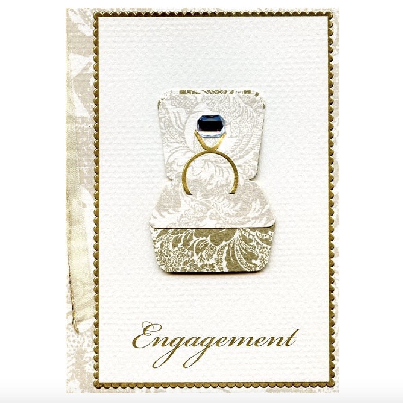 Meri Meri Engagement Ring Greeting Card, MM-Meri Meri UK, Putti Fine Furnishings
