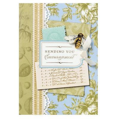 "Anna Griffin ""Sending You Encouragement"" Greeting Card, Bella Flor, Putti Fine Furnishings"
