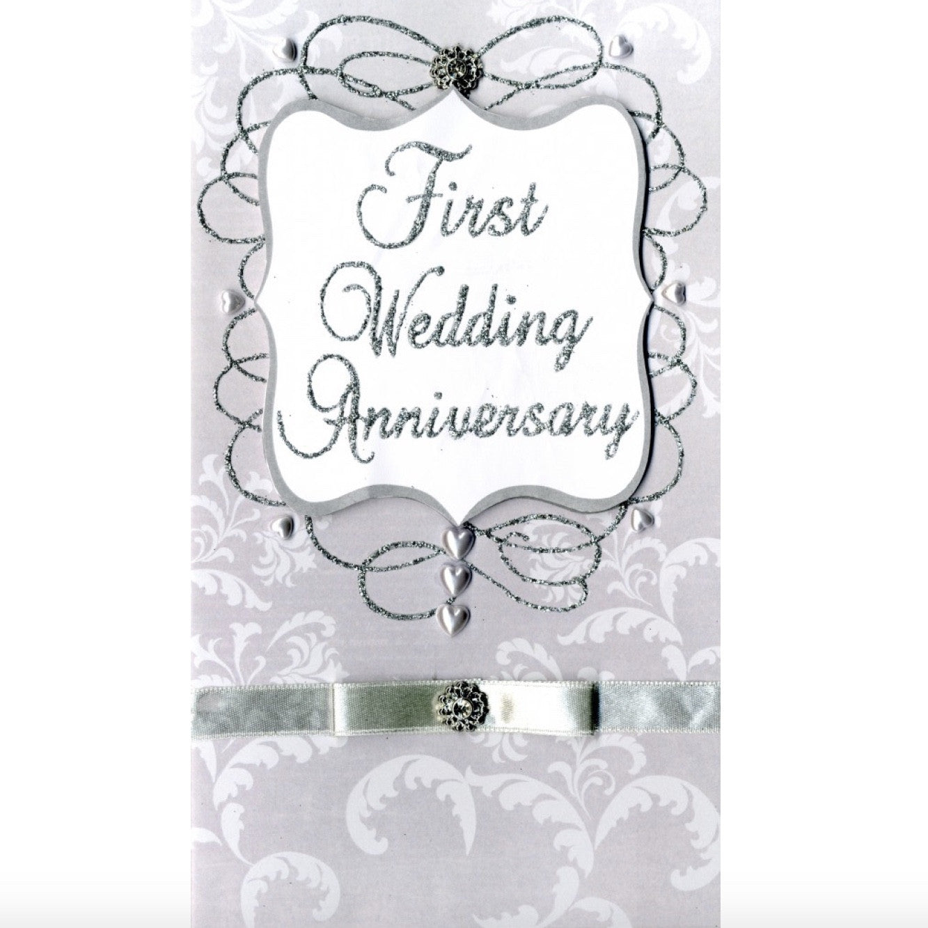 """First Wedding Anniversary"" Greeting Card, ID-Incognito Distribution, Putti Fine Furnishings"