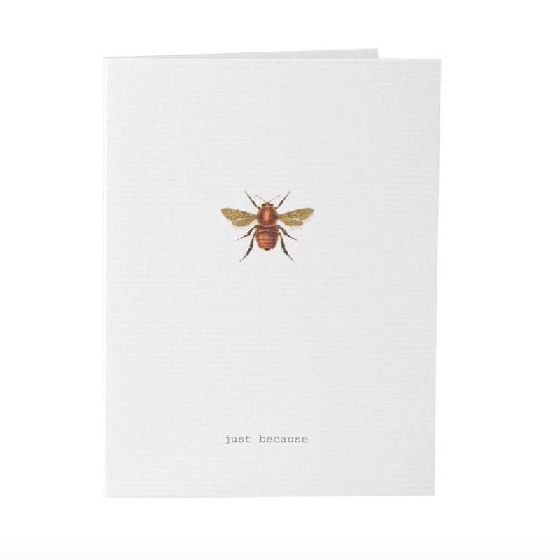 "Tokyo Milk ""Just Because"" Bee Card"