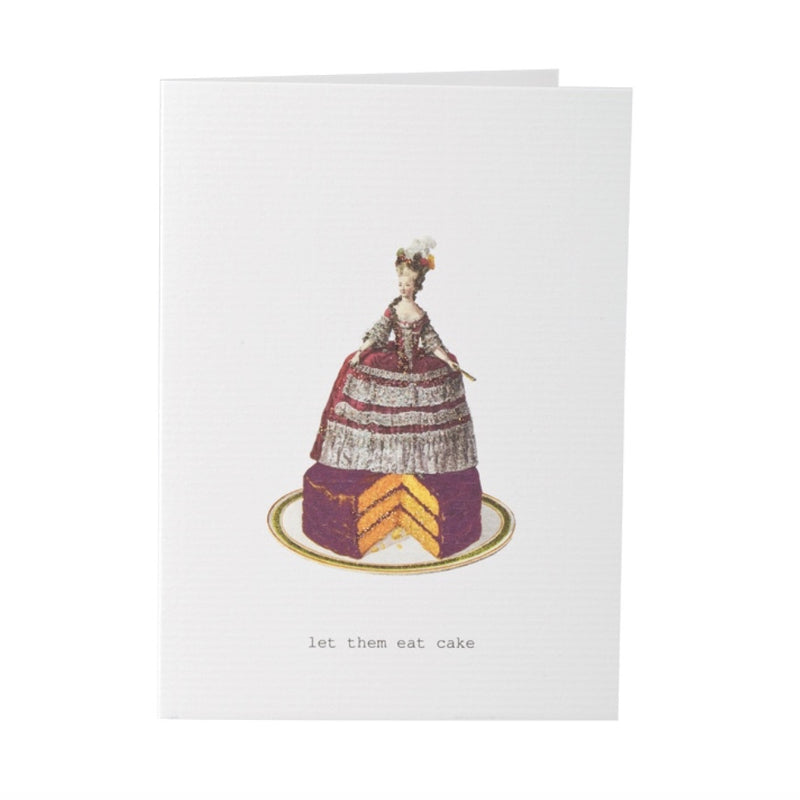 "Tokyo Milk ""Let them Eat Cake"" Card -  Stationary - Tokyo Milk - Putti Fine Furnishings Toronto Canada"