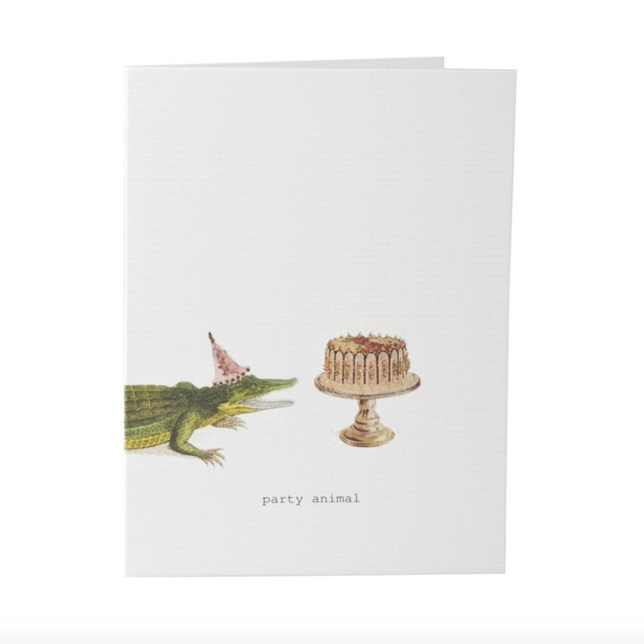"Tokyo Milk ""Party Animal"" Crocodile Card, TM-Tokyo Milk, Putti Fine Furnishings"