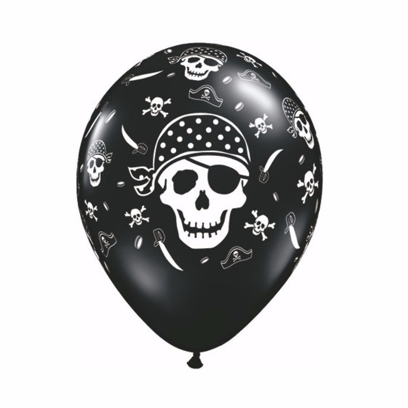 Black & White Skull and Cross Bone Balloons, SE-Surprize Enterprize, Putti Fine Furnishings