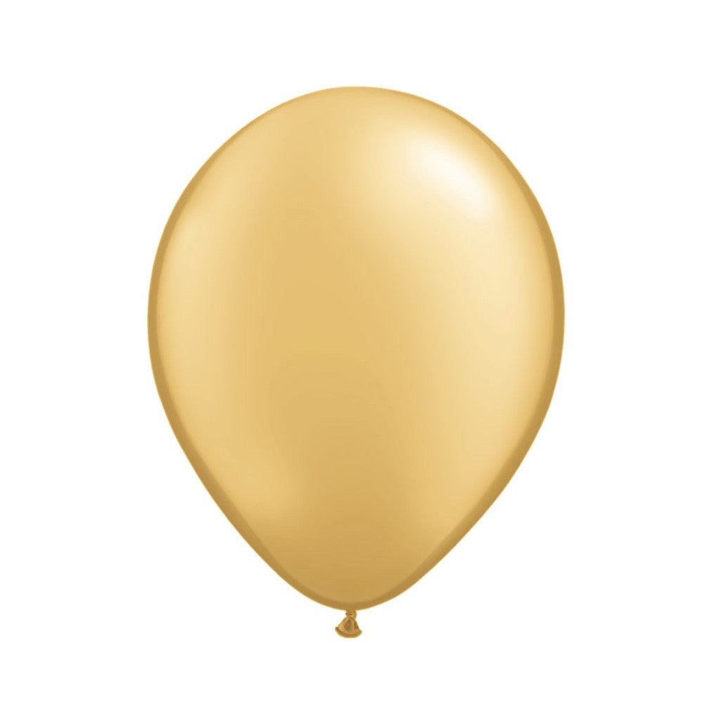 Metallic Gold Opaque Balloons