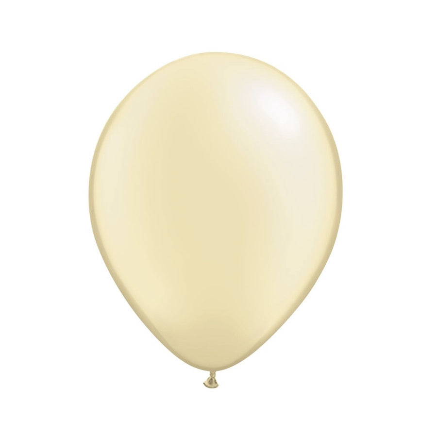 Pearlized Ivory Opaque Balloons