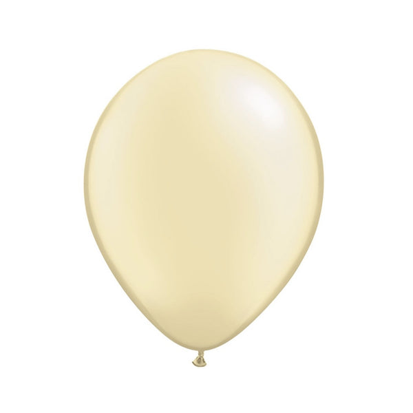 Pearlized Ivory Opaque Balloons - Balloon Party Supplies - Surprize Enterprize - Putti Fine Furnishings Toronto Canada